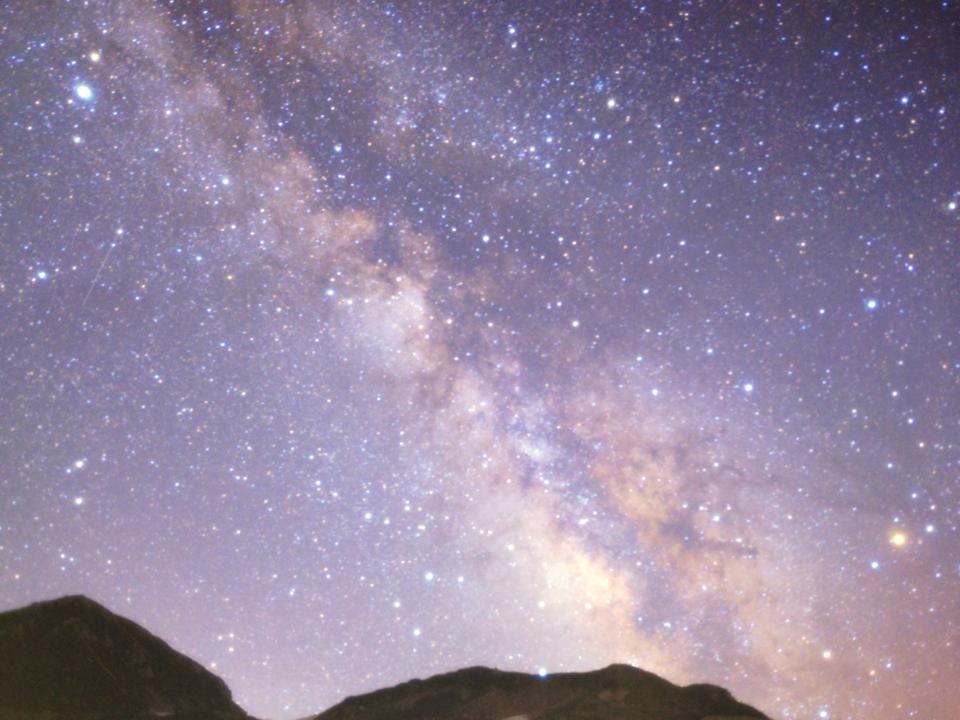 グリーンモール山室で星の写真説明会(星空観測会)を開催しました。の画像