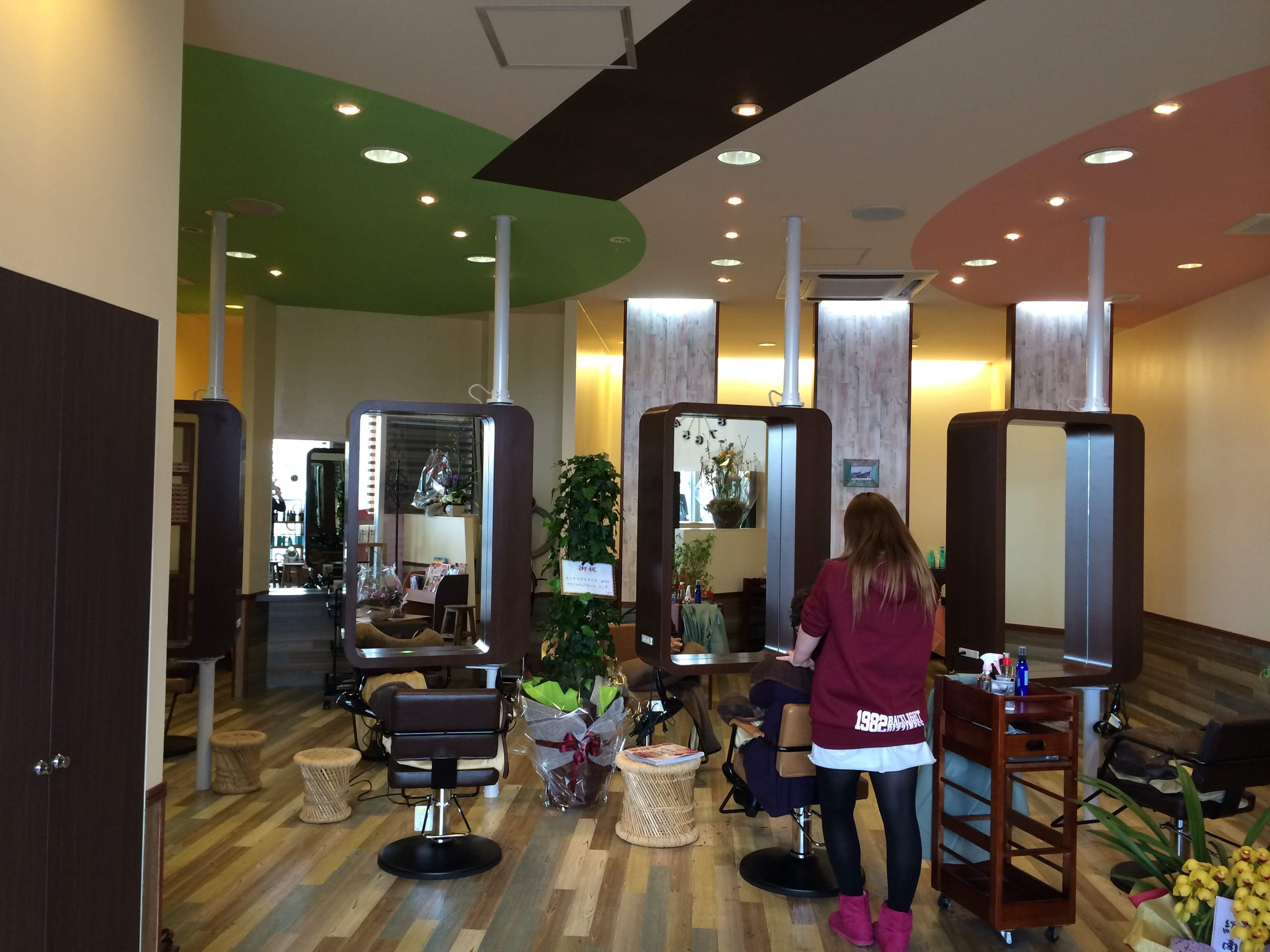 グリーンモール中曽根に美容室「CANVAS」さんがオープンしましたの画像